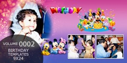Birthday Templates 9X24 - 0002