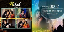 Muslim Wedding Page Volume 12X36 - 0002