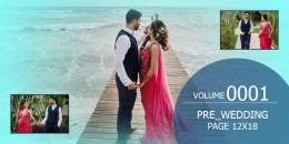 Pre-Wedding Templates 12X18-0001