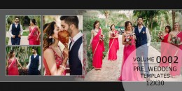 Pre-Wedding Templates 12X30 - 0002