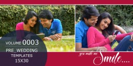 Pre-Wedding Templates 15X30 - 0003
