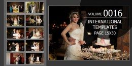 International Template Volume 15x30 - 0016