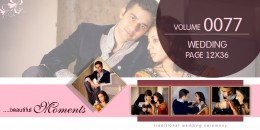 Wedding Page Volume 12x36 - 0077