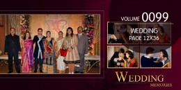Wedding Page Volume 12x36 - 0099
