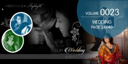 Wedding Page Volume 14X40 - 0023