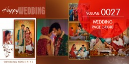 Wedding Page Volume 14X40 - 0027