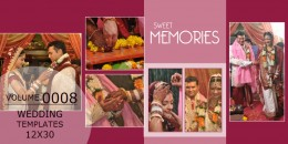 Wedding Templates 12X30 - 0008