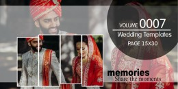 Wedding Templates 15X30 - 0007