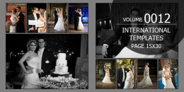 International Template Volume 15x30 - 0012