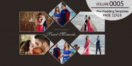 Pre-Wedding Templates 12X18-0005