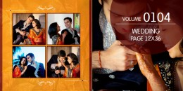 Wedding Page Volume 12x36 - 0104