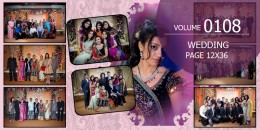 Wedding Page Volume 12x36 - 0108
