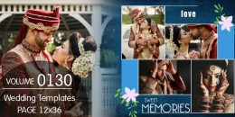 Wedding Templates 12X36 - 0130