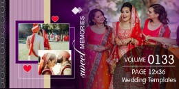 Wedding Templates 12X36 - 0133